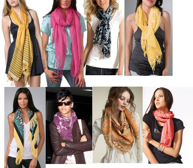 trendy nyc fashion trend summer scarves